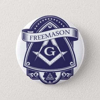 Freemason Illuninati All-seeing Eye 2 Inch Round Button