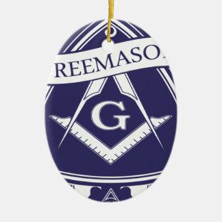 Freemason Illuninati All-seeing Eye Ceramic Ornament