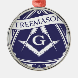 Freemason Illuninati All-seeing Eye Metal Ornament