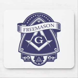 Freemason Illuninati All-seeing Eye Mouse Pad