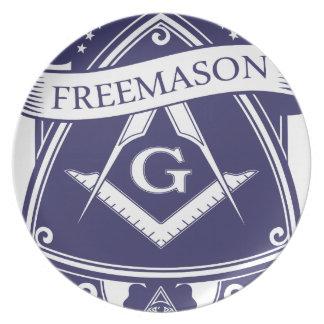 Freemason Illuninati All-seeing Eye Plate