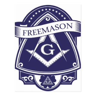 Freemason Illuninati All-seeing Eye Postcard