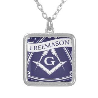 Freemason Illuninati All-seeing Eye Silver Plated Necklace