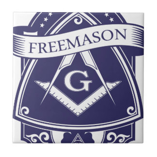 Freemason Illuninati All-seeing Eye Tile