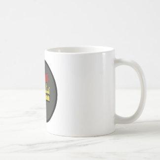 FREEMASON - MASONIC CROSS AND CROWN PATCH COFFEE MUG