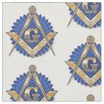 Freemason Masonic Fabric Blue Lodge