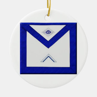 Freemason Master's Apron Ceramic Ornament