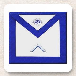 Freemason Master's Apron Coaster