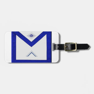 Freemason Master's Apron Luggage Tag