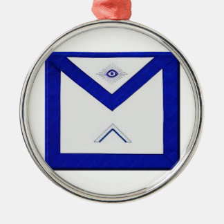 Freemason Master's Apron Metal Ornament
