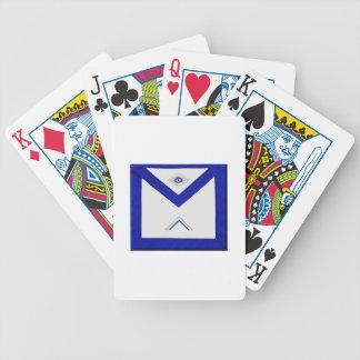 Freemason Master's Apron Poker Deck