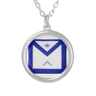Freemason Master's Apron Silver Plated Necklace