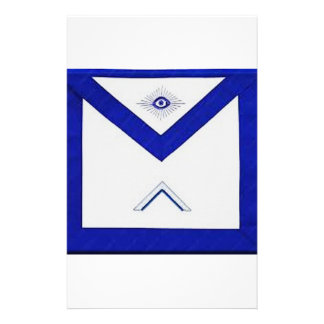 Freemason Master's Apron Stationery
