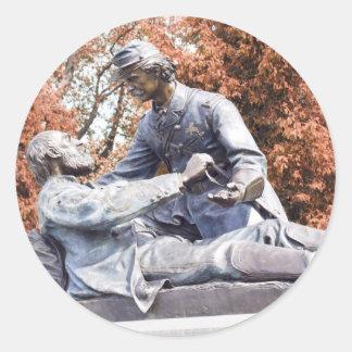 Freemason Memorial Gettysburg PA Classic Round Sticker