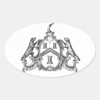 Freemason Oval Sticker