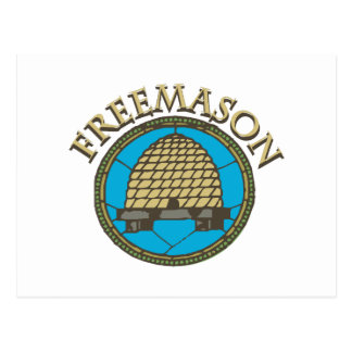Freemason Postcard