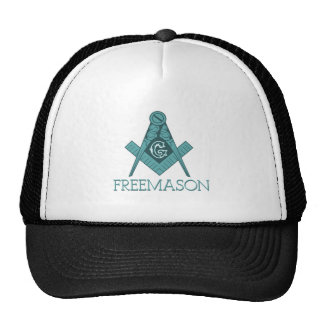 Freemason Square & Compass Freemason Trucker Hat