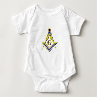 Freemason Square & Compasses Baby Bodysuit