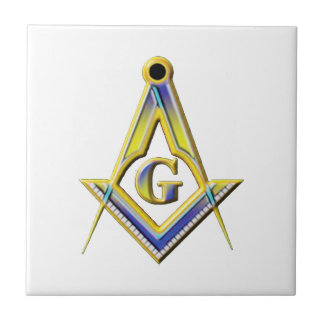Freemason Square & Compasses Ceramic Tiles