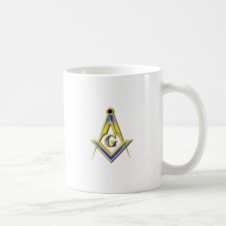 Freemason Square & Compasses Coffee Mug