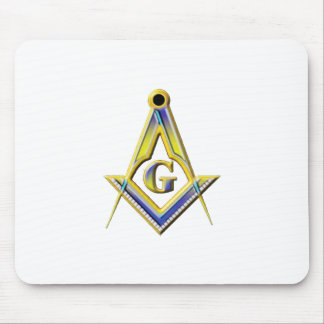 Freemason Square & Compasses Mouse Pad