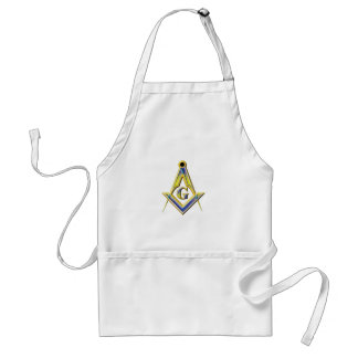 Freemason Square & Compasses Standard Apron