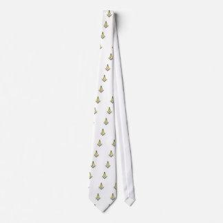 Freemason Square & Compasses Tie