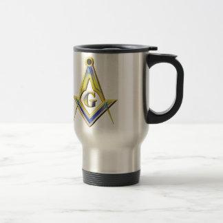 Freemason Square & Compasses Travel Mug