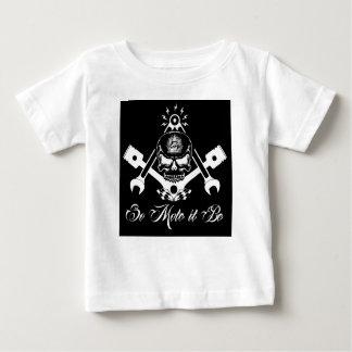Freemason-Widows-Sons-Masonic-Hotrod-Logo-20160407 Baby T-Shirt