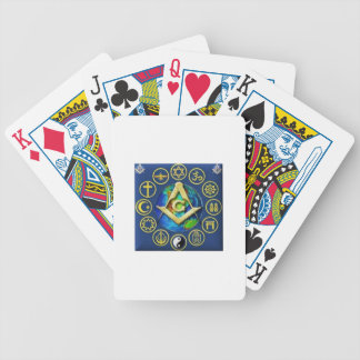 Freemasonry All Religions Bicycle Playing Cards
