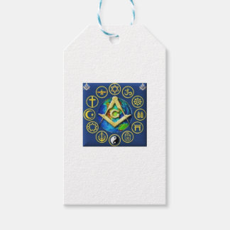 Freemasonry All Religions Gift Tags