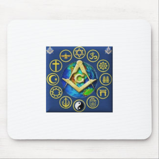 Freemasonry All Religions Mouse Pad