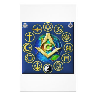 Freemasonry All Religions Stationery