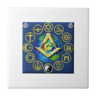 Freemasonry All Religions Tile