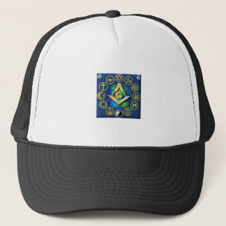Freemasonry All Religions Trucker Hat
