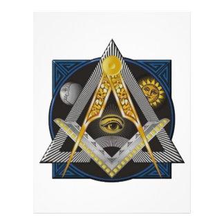 Freemasonry Emblem Letterhead