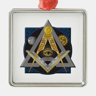 Freemasonry Emblem Metal Ornament