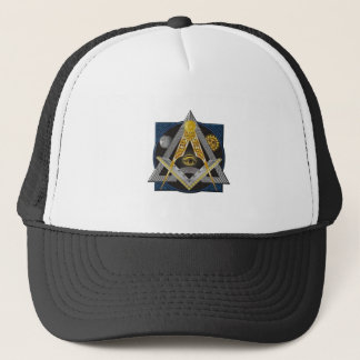 Freemasonry Emblem Trucker Hat