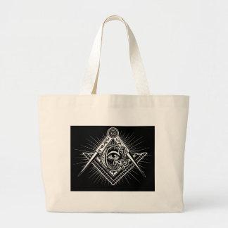 Freemasonry-Masonic-Masonry Large Tote Bag