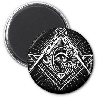 Freemasonry-Masonic-Masonry Magnet
