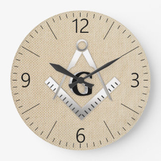 Freemasonry sign clocks