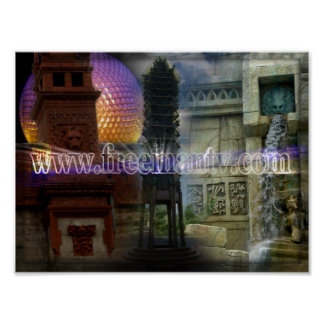 Freemasonry World Poster
