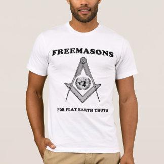 Freemasons for Flat Earth Truth T-Shirt