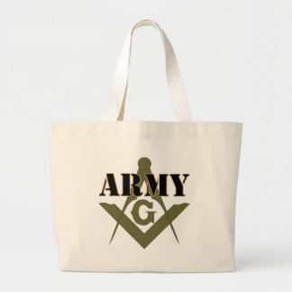 Freemasons in the Army Large Tote Bag