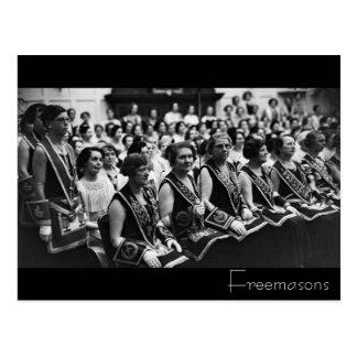 Freemasons Postcard