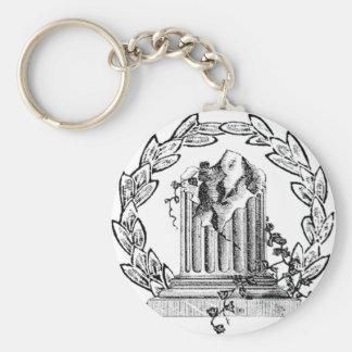 Freemason's Window's Pin Keychain