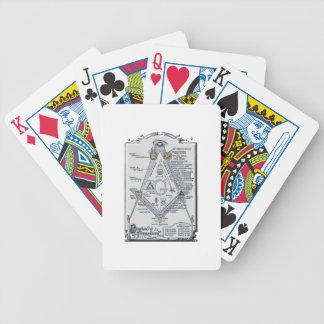 freemasonstruct bicycle playing cards