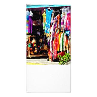 Freeport, Bahamas - Shopping At Port Lucaya Market Photo Cards
