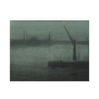 freer nocturne blue  and silver battersea reach canvas print