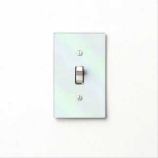 Freesia Blue Pearlescent Light Switch Cover